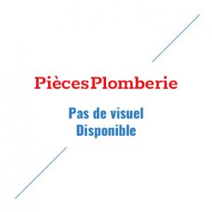 Plaque Wisa métal chromé mat double touche